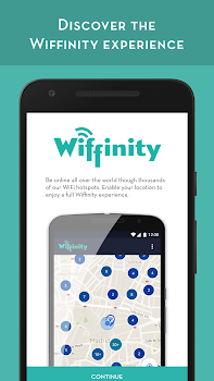 WIFFINITY-WIFI ACCESS PASSWORD