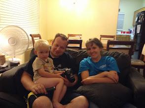 Photo: David, Josh and Cara