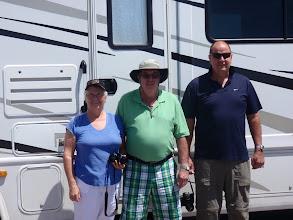 Photo: 07/06/2013 - Badlands - South Dakota - Heather, Dad and Dave..