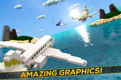 Aircraft Survival Block Planes - Flying Simulator- screenshot thumbnail