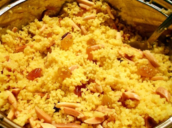 Curried Couscous With Almonds And Raisins Recipe