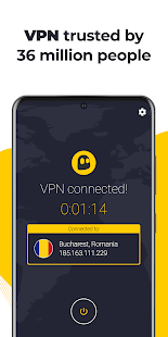 CyberGhost VPN & WiFi Proxy Screenshot