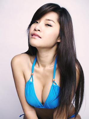 sexy blue bra