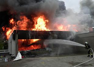 Photo: Stelle des Brandausbruchs