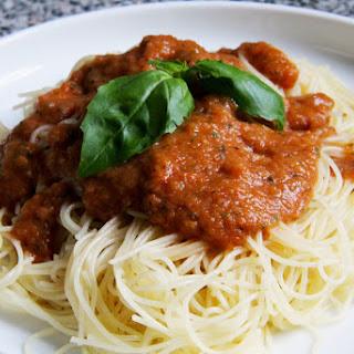 Quick and Easy Tomato Sauce