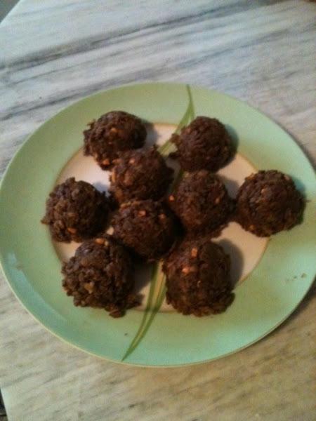 Peanut Butter Chocolate Banana No-bake Cookies Recipe