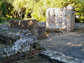 Photo: Butrint - Gymnasion and Nympheion 2nd century AD