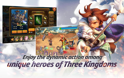 Chaotic Three Kingdoms: Epic Heroes War 1.4.0 screenshots hack proof 2