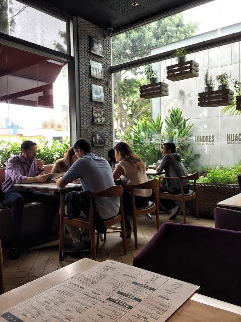 Restauracja Papacho's, Lima
