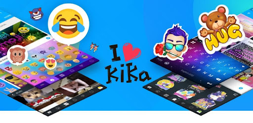 Kika Keyboard - Emoji, GIFs for PC