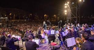 Concierto de la OCAL en el Parque de las Almadrabillas en 2019.