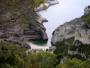 Photo: Peaceful cove, Svitnja, on Vis Island