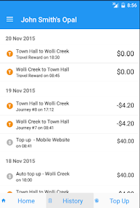 Opal View Lite - Opal Card App screenshot 9