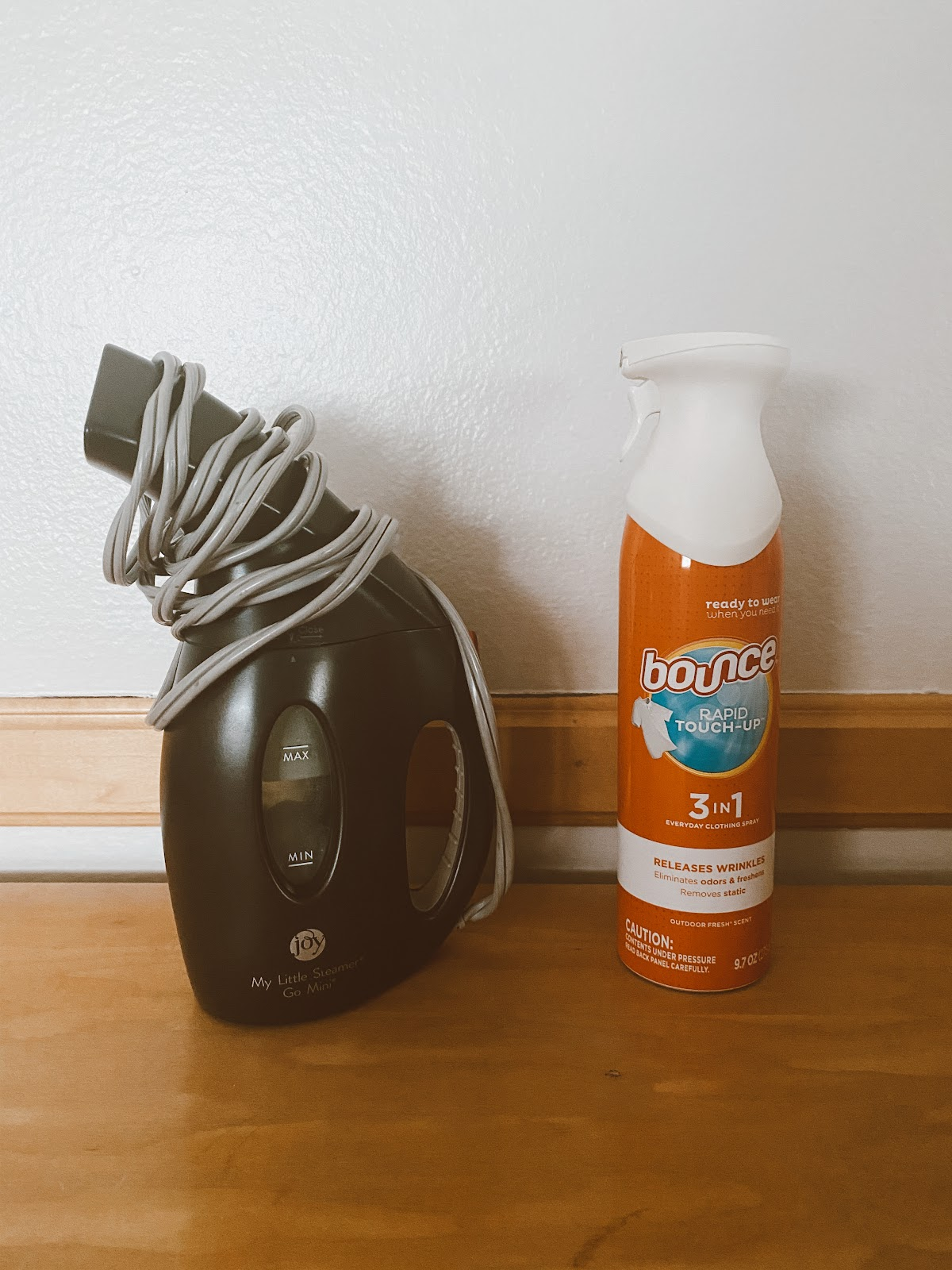 Wrinkle Spray and Steamer