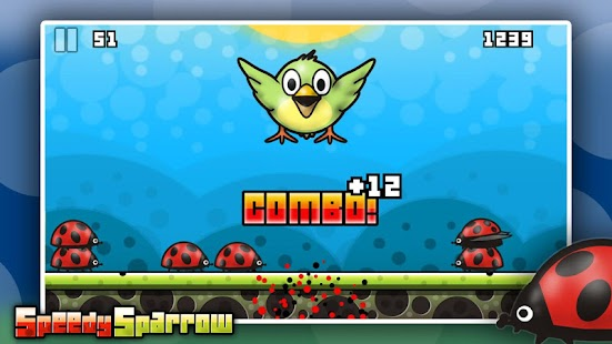 Speedy Sparrow - free game- screenshot thumbnail