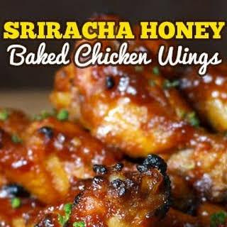 Sriracha Honey Chicken Wings.
