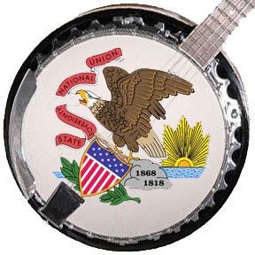 Illinois state banjo