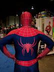 Spider-Man back