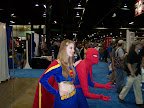 Supergirl and Spider-Man