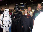 Imperial Stormtrooper, Darth Vader and Hermione