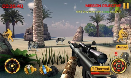 Wild Hunter 3D MOD APK (Unlimited Money) 2