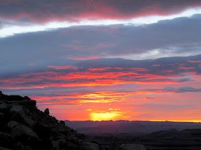 Photo: Sunrise closeup