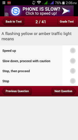 android Alabama Car Driving Test Screenshot 3