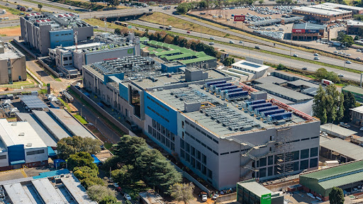 Teraco's JB3 data centre facility is located within the Isando Campus in Ekurhuleni, east of Johannesburg.
