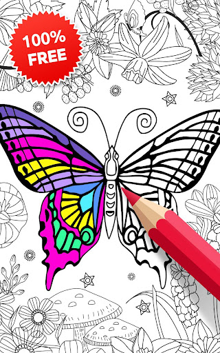 Animal Coloring Book for Girls