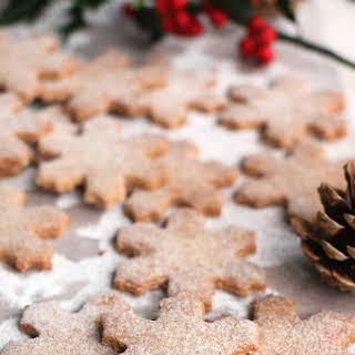 Hazelnut and Buckwheat Christmas Cookies.