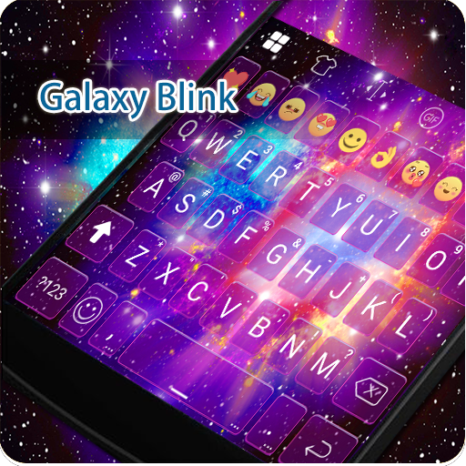 Galaxy Blink Eva Keyboard -Gif 遊戲 App LOGO-硬是要APP