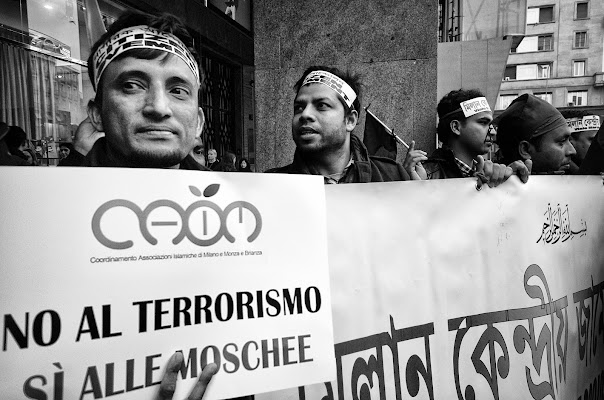 Volti di protesta di Paolo Zanoni