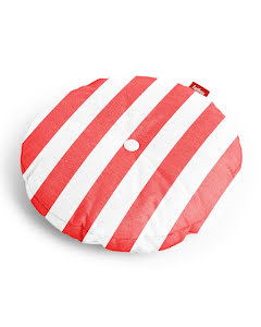 Fatboy® circle pillow stripe red