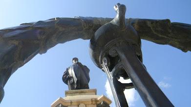 Photo: JRD Tata's statue