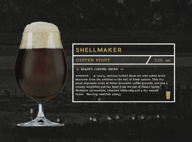 Logo of Gunwhale Ales Shellmaker Oyster Stout