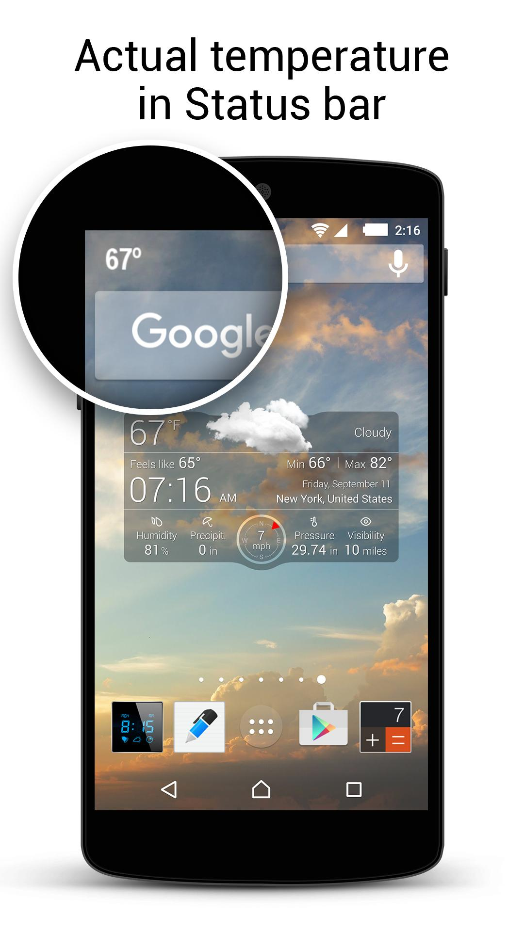 Weather Live Free screenshot #4