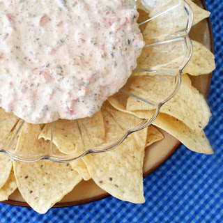 Sausage Cream Cheese Dip.