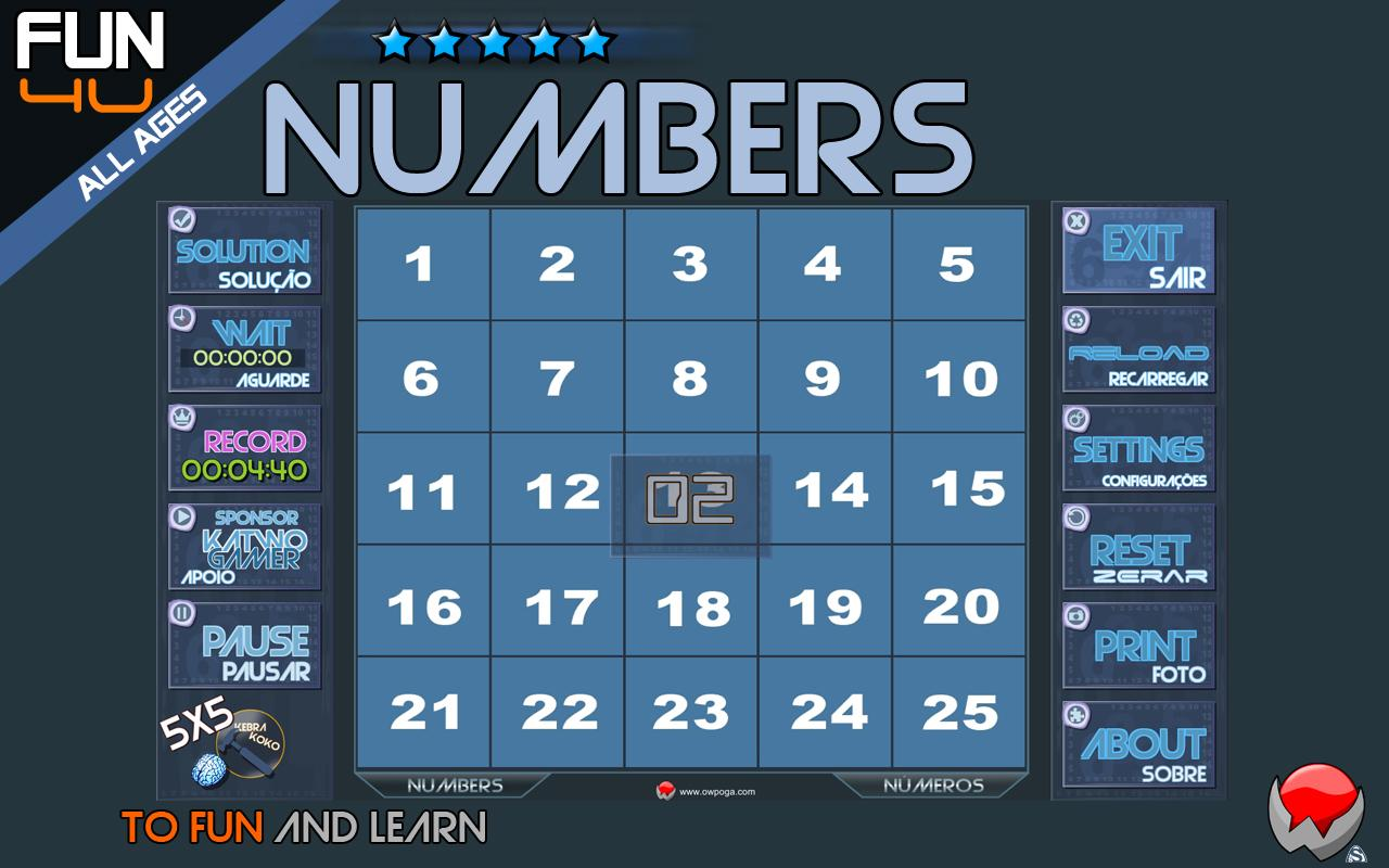 Puzzle Kebrakoko Numbers- screenshot