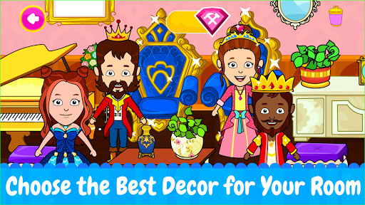Tizi Town: My Princess Dollhouse Home Design Games 1.1 screenshots 1