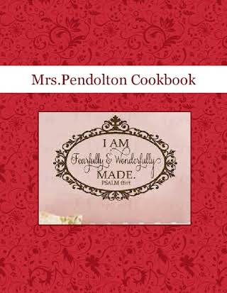 Mrs.Pendolton Cookbook