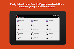 Screenshot of Egyptian Radio