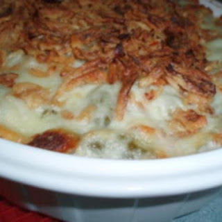 Cheezy Green Bean Casserole