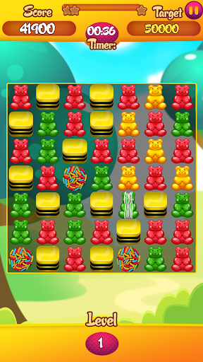 Endless Gummy Bear game for Android screenshot