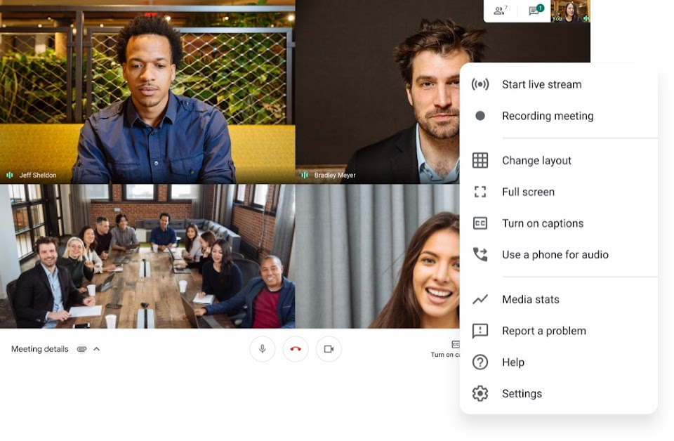How To Use Google Meet Video Conferencing Google Meet