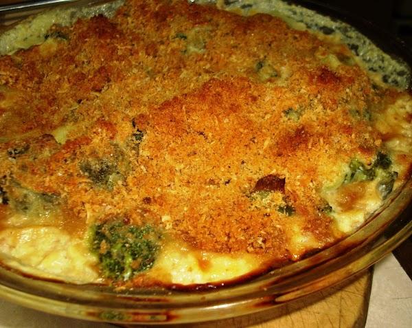 Golden Broccoli Gratin Recipe