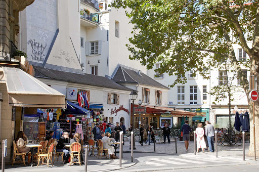 latin-quarter-paris.jpg - Paris is more than just museums. Take time to wander through the Latin Quarter, laced with quaint streets (rues) like Saint-André des Arts.