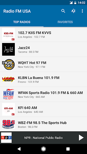 Radio FM USA 6.1 screenshots 1