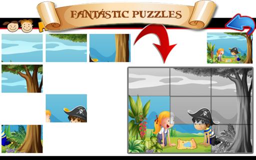 子供のための海賊 ゲーム