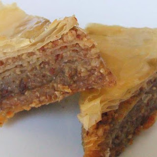 """Honeyed Bacon"" Baklava"