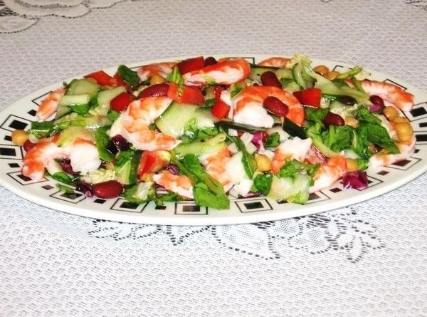 Prawns  Salad Recipe